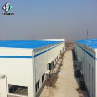 Buy cheap Light Metal Building Prefabricated Industrial Steel Structure Warehouse from wholesalers