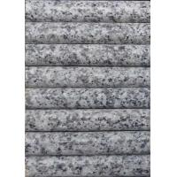 Buy cheap Light Grey / White Granite Stair Treads , Exterior Stone Stair Treads 120 X 33 X 3cm from wholesalers