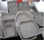 Buy cheap Food Aluminium Foil Container Tray With Lids Aluminium Roasting Pan from wholesalers