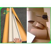 Buy cheap DIY Natural Colorful Washable Kraft Paper Fabric With Silk Printing from wholesalers