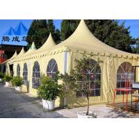 Buy cheap PVC Canopy Gazebo Tent For Celebrations , Flame Retardant Wedding Party Tent from wholesalers