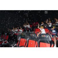 Buy cheap Crazy 6D Movie Theater , 6D Motion Simulators Experience With Many Kinds Of Special Effects product