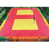 Buy cheap High Density Bjj Colourful Jujitsu Martial Arts Competition And Training Judo Mats from wholesalers
