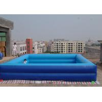 Buy cheap Extra Large Inflatable Pool / Deep Portable Swimming Pools For Adults from wholesalers