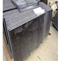Buy cheap Outdoor Granite Marble Stone / Black Granite Kitchen Floor Tiles from wholesalers