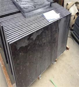 Buy cheap Outdoor Granite Marble Stone / Black Granite Kitchen Floor Tiles product