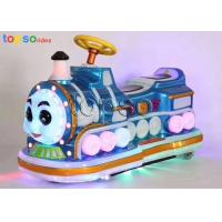 Buy cheap Thicken Plastic Electric Kids Ride On Car Remote Control Train Rides from wholesalers