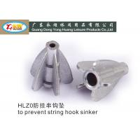 Buy cheap Die casting tower fishing hooks and sinkers to prevent string 20G from wholesalers
