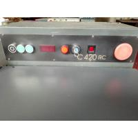 Buy cheap 420 Used Second Hand Camoga Bank Knife Leather Splitting Machine from wholesalers