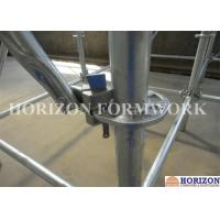 Buy cheap Flexible Ringlock Scaffolding System , Wedge Lock Scaffolding High Stability product