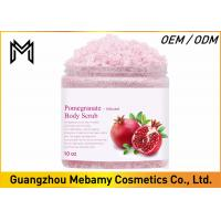 Buy cheap Exfoliating Skin Care Body Scrub , Pomegranate Brightening Body Scrub Anti Aging product