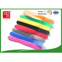 Buy cheap 100% Nylon Water resistance Releasable Cable Ties , Colorful Hook and Loop Tape from wholesalers