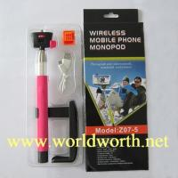 Buy cheap Factory Supply Wholesale 2014 wireless Monopod  Z07-5 Wireless Mobile Phone Monopod Legoo Selfie Stick from wholesalers