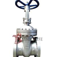 Buy cheap Cast Stainless Steel Gate Valve A351 CF8 SS304 300LB With Bolted Bonnet Design product