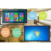Buy cheap Multi Function 4K Infrared Touch Screen Monitor Built In OPS PC / Android OS from wholesalers