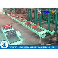 Buy cheap Long Distance Vertical Fertilizer Conveyor Belt , Bulk Material Handling Large Angle Conveyor from wholesalers