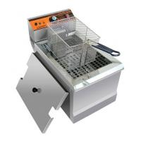 Buy cheap 2.5KW Counter Top Commercial Electric Deep Fryer For Hotels / Restaurants from wholesalers
