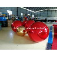 Buy cheap Red Color 15ft Flying Helium Inflatable Mirror Balloon For Christmas Decoration from wholesalers