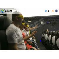 Buy cheap 5D Cinema / 5D Movie Theater Customize Motion Chairs Around 12 Special Effects product