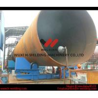 Buy cheap Pressure Vessel Automatic Conventional Pipe Welding Rotator with PU Roller 10 Ton from wholesalers