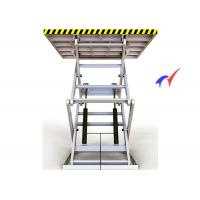 Buy cheap 100 M/S Electric Scissor Lift Table , Steady Up / Down Electric Hydraulic Lift Table from wholesalers