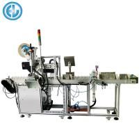Automatic Filter Flat Labeling Machine Plane Round Custom Size