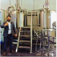 Buy cheap beer brewing and making machine/equipment with200L 500L  1000L product