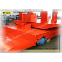 Buy cheap Special Shaped Rail Transfer Cart Wagon With Polyurethane Solid Wheels from wholesalers