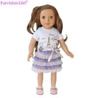 Buy cheap Cheap real girl cute baby dolls fashion girl vinyl doll 18 inch soft toy new from wholesalers