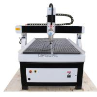 Buy cheap 900*1500mm CNC Wood Advertisement Router with Vacuum Table/Mach3 Control System from wholesalers