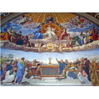 Buy cheap High Glossy Surface Decorative Acoustic Ceiling Panels Bible Painting from wholesalers