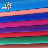 Buy cheap Single side or double side flocked fabric for shoes and bags from wholesalers