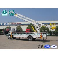 Buy cheap Drive System Curved Arm Hydraulic Platform Truck 190HP SINOTRUK from wholesalers