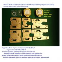 Buy cheap iphone IC Test Jig Fixture iPhone 6p 6 5S 5C 5 4S 4 nand flash memory tester detecting tool auxiliary repairing bypass from wholesalers