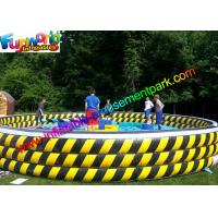 Buy cheap Crazy Sports Inflatable Wipeout Eliminator , Wipe Out Mechanical Games for 6 Person from wholesalers