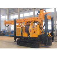 Buy cheap Crawler Water Well Drilling Rig SNR-350B Drilling Capacity 110m from wholesalers
