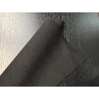 Buy cheap Black Warm Soft Woven Wool Fabric ployster / Wool Upholstery Fabric from wholesalers