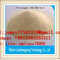 Buy cheap Female Hormone Testosterone Anabolic Steroid Progesterone Altrenogest CAS 850-52-2 from wholesalers
