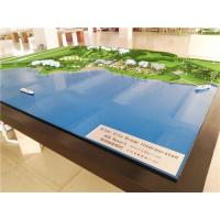 Buy cheap Master planning villa scale model , 1:1000 massing block model with led lighting from wholesalers