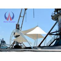Buy cheap Anticlastic Pre - Stressed Sail Tensile Shade Structures For Simple Stage from wholesalers