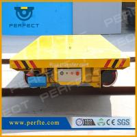 Buy cheap Wide track gauge cross-by rail transfer cart transport system bxc-25t from wholesalers