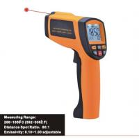 Buy cheap Precise non-contact safe laser IR thermometer, Handheld infrared thermometer 200 ~ 1850℃ from wholesalers