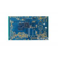 Buy cheap Power Amplifier Rigid Multilayer PCB Bare Board , Blank FR-4 PCB Circuit Board 6 Layer from wholesalers