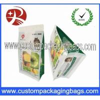 Buy cheap Flat Bottom Laminated Cat / Dog Pet Plastic Food Packaging Bags With Resaelable Zipper from wholesalers