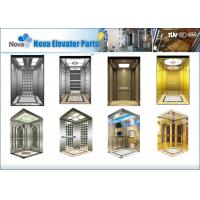 Buy cheap Machine Room Elevator Cabins , Luxury Residential Passenger Cabin from wholesalers
