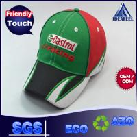 Buy cheap Embroidery Raised Logo Unisex Baseball Caps For Outdoor Racing 6 Panels from wholesalers