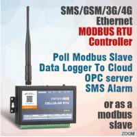 Buy cheap 2017 Hot Programmable Ethernet 3G 4G Gprs Gsm Sms Gps Telemetry Data Logger IO Module remote terminal unit Alarm Modem from wholesalers