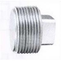 Buy cheap ASTM B564 UNS N10675 NPT threaded square head plug from wholesalers