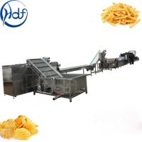Buy cheap Frozen French Fries Automatic Potato Chips Making Machine Large Scale from wholesalers