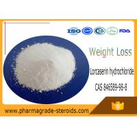 Buy cheap CAS 846589-98-8 Pharmaceutical Raw Materials Lorcaserin hydrochloride for Weight Loss from wholesalers